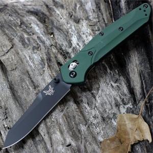 BENCHMADE OSBORNE. Обзор складных ножей с уникальным покрытием клинка