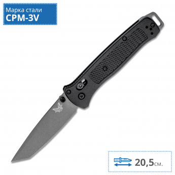 Нож BENCHMADE 537GY BAILOUT