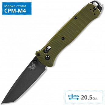 Нож BENCHMADE 537GY-1 BAILOUT